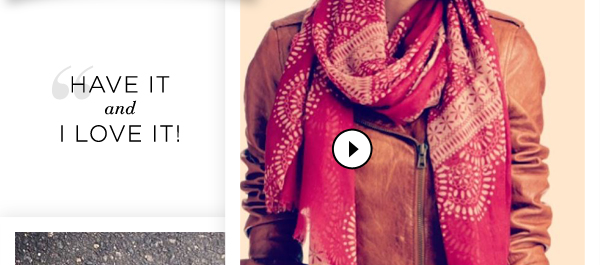Our Most-Liked Styles: Shop Scarves