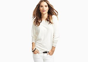 White Wash: Denim & Tops