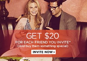 Invite Friends, Earn $20