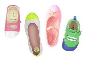 Colorful Kicks: Kids' Shoes