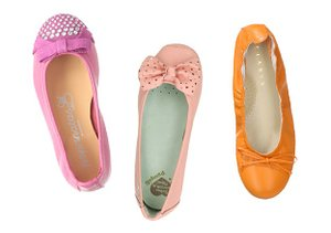 Girls' Fetching Flats