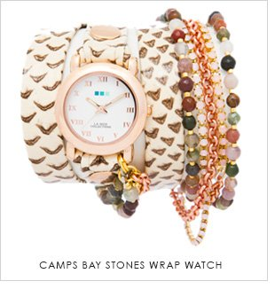 Camps Bay Stone Wrap Watch