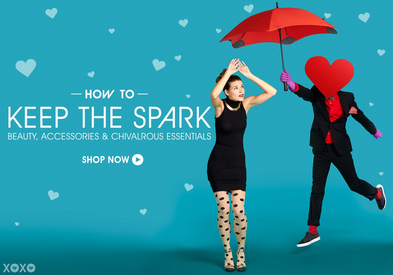 How To Keep The Spark. Beauty, Accessories & Chivalrous Essentials