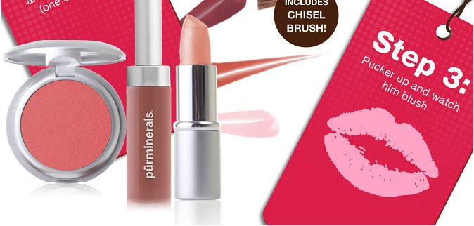 STEP #2: Pick your blush, lip gloss and lipstick shades(one shade each).