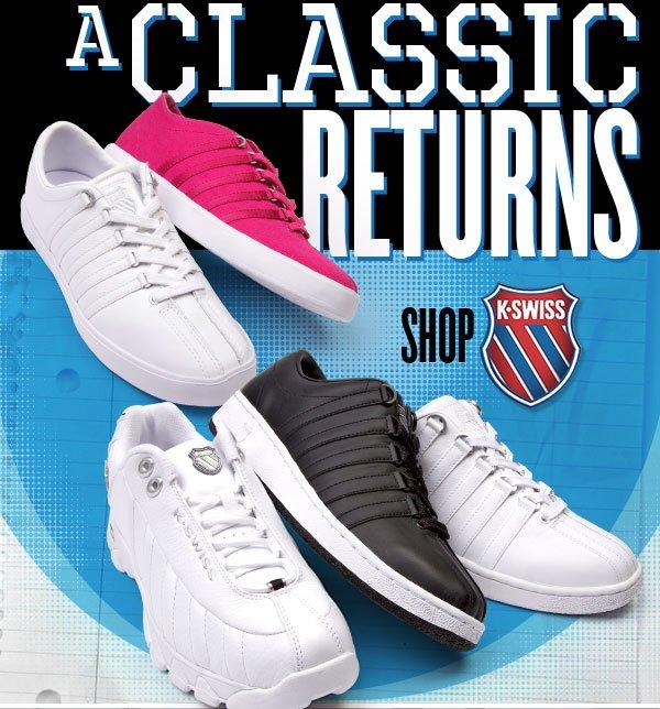 K-Swiss: A Classic Returns
