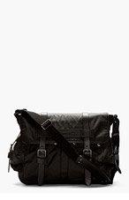 BELSTAFF Black Bromfield Messenger Bag for men