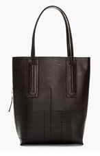 RICK OWENS Black Leather Extra Tall Tote for men