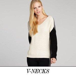 V-necks