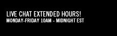 Live Chat Extended Hours! Our Makeup Artists Are Here Monday-Friday 10am - Midnight EST