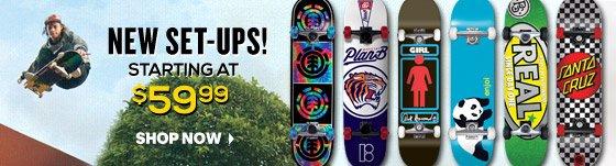 New Skateboards