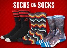 Socks on Socks