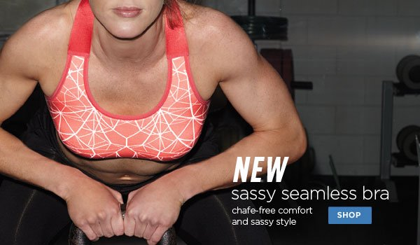 SHOP Sassy Seamless II Sports Bra