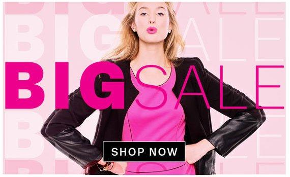 Big Sale. Shop Now