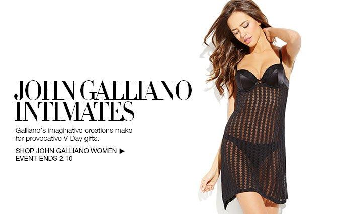 Shop John Galliano Intimates - Ladies.
