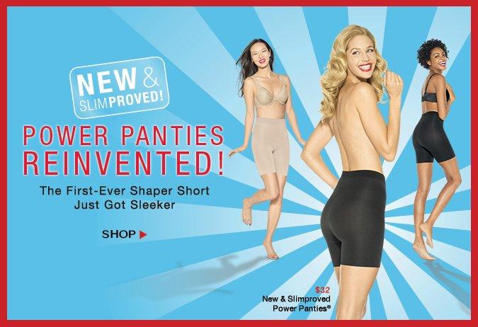 Power Panties®…Reinvented! The First Ever Shapewear Short Just Got Sleeker! Shop!