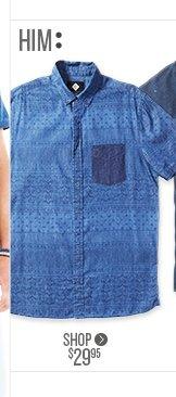 SS Alfie Printed Shirt