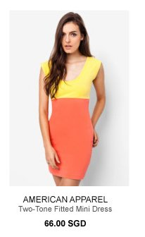 AMERICAN APPAREL Mini Dress - 66SGD