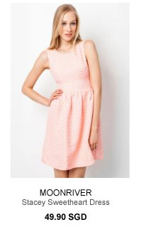 MOONRIVER Sweetheart Dress - 49.90SGD