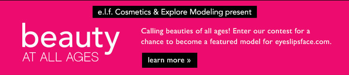 be.l.f. Cosmetcs & Explore Modeling Present: Beauty At All Ages Learn More!