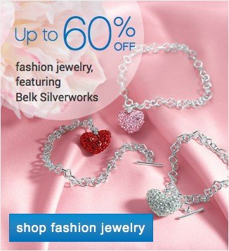 Up to 60% off fine jewelry featuring Belk Silverworks. Shop fine jewlery.