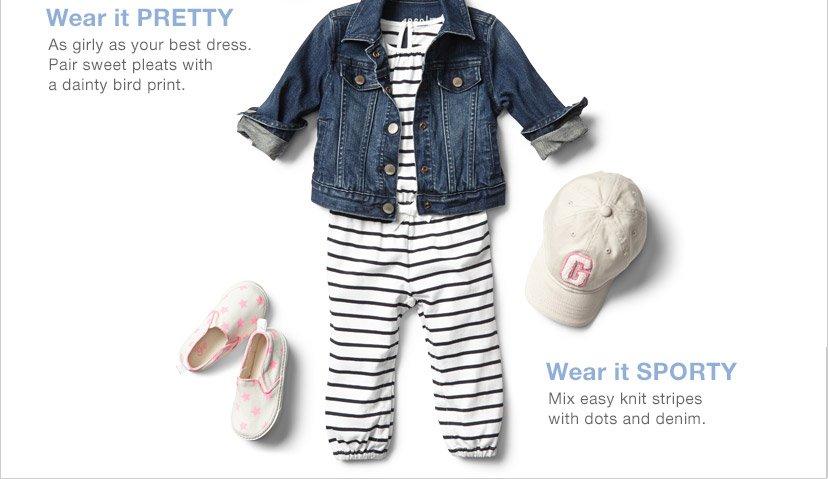 Wear it PRETTY | Wear it SPORTY