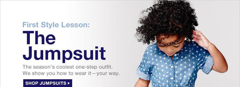 First Style Lesson: The Jumpsuit | SHOP JUMPSUITS