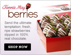 Fannie May Berries Indulge your sweetheart with fresh, ripe strawberries dipped in 100% real Shop Now>