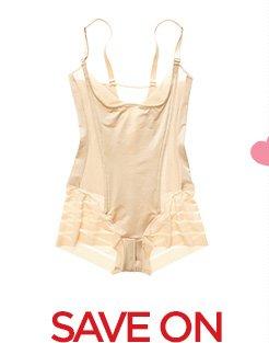 SAVE ON select bras & shapewear