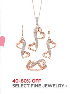 40-60% OFF SELECT FINE JEWELRY ›