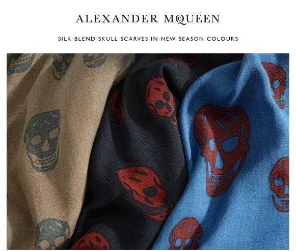 New season menswear and skull scarves