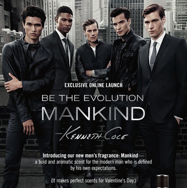 Introducing our new men's fragrance: Mankind
