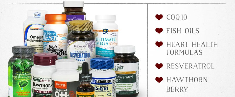 Save Up To 60% On Heart Health Supplements