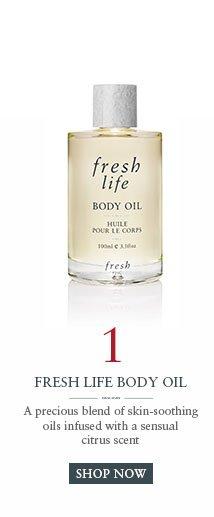 Fresh Life Body Oil