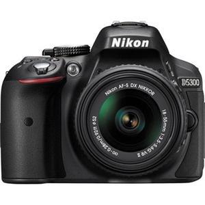 Adorama - Nikon D5300 DSLR W/18-55 DX VR II BLACK