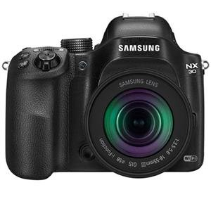 Adorama - Samsung NX30 Smart Mirrorless Digital Camera with 18-55mm Lens