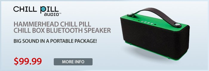 Adorama - Chill Pill Chill Box Bluetooth Speakers