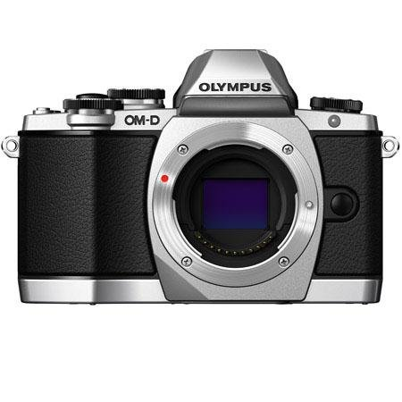 Adorama - Olympus E-M10 Mirrorless Interchangeable-Lens Camera Body Only