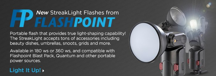 Adorama - Flashpoint StreakLight Flashes