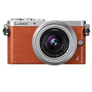 Adorama - Panasonic Lumix DMC-GM1 Digital Camera (Orange)
