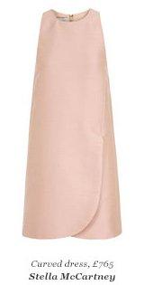Curved dress, £765 Stella McCartney