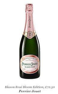 Blason Rosé Bloom Edition, £72.50 Perrier Jouet