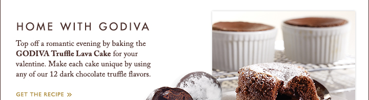 HOME WITH GODIVA | GET THE RECIPE »