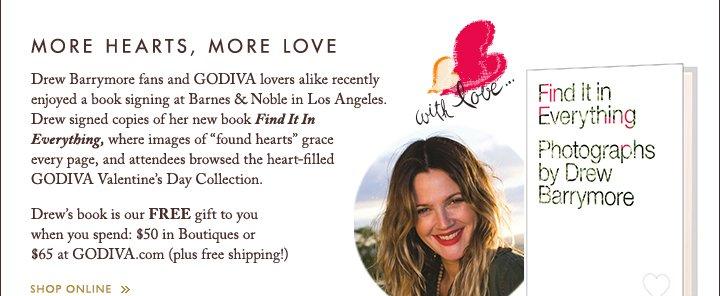 MORE HEARTS, MORE LOVE | SHOP ONLINE »