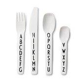 Design Letters, Cutlery Set For Kids