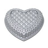 Nordic Ware Quilted Heart Baking Pan