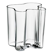 Alvar Aalto Vase Clear 200 mm