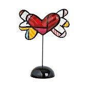 Figurine Flying Heart 30 cm