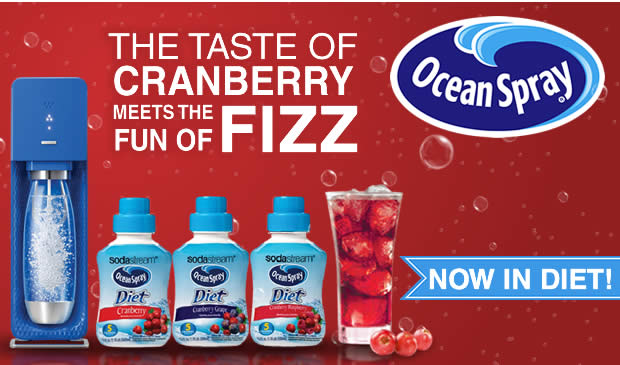 The Taste of Cranberry Meets The Fun Of Fizz with Ocean Spray