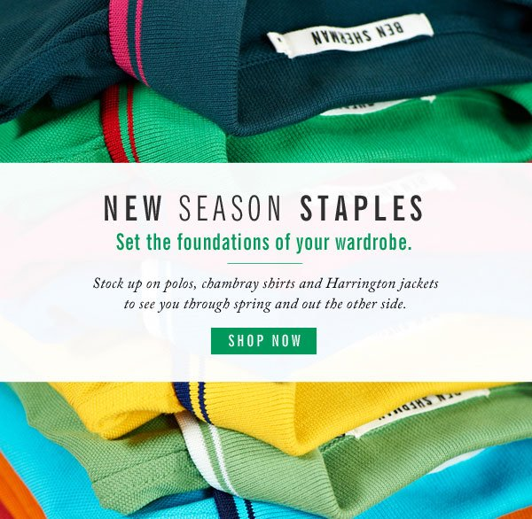 New Season Staples