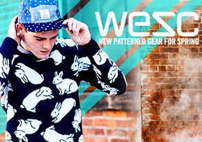 Shop WESC: NEW Patterned Gear for Spring